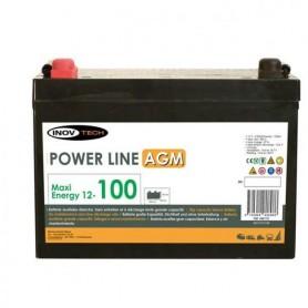 Batería 100 Amperios AGM